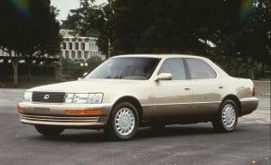 lexus ls400 (1990)