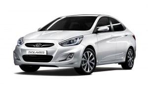 Hyundai Solaris главный конкурент Vesta