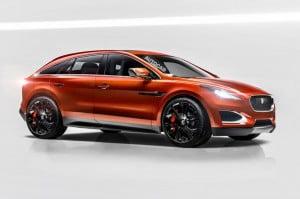 Новый кроссовер Jaguar, пока без названия.