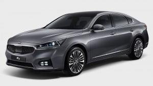 Внешний вид новой Kia Cadenza второго поколения