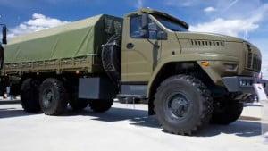 Армейский вариант Урал 4320-70 «Урал-М»