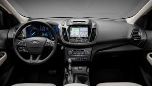Ford Escape вид салона