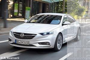 первые фотографии Opel Insignia нового поколения
