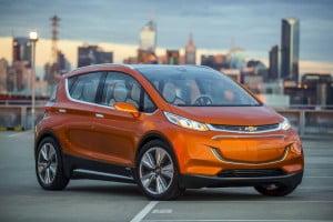 Chevrolet Bolt новый электро-хэтчбек