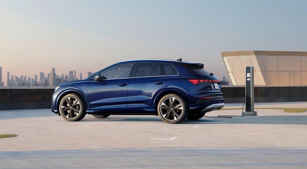 Вот сколько будет стоить Audi Q4 e-tron 2022 года выпуска