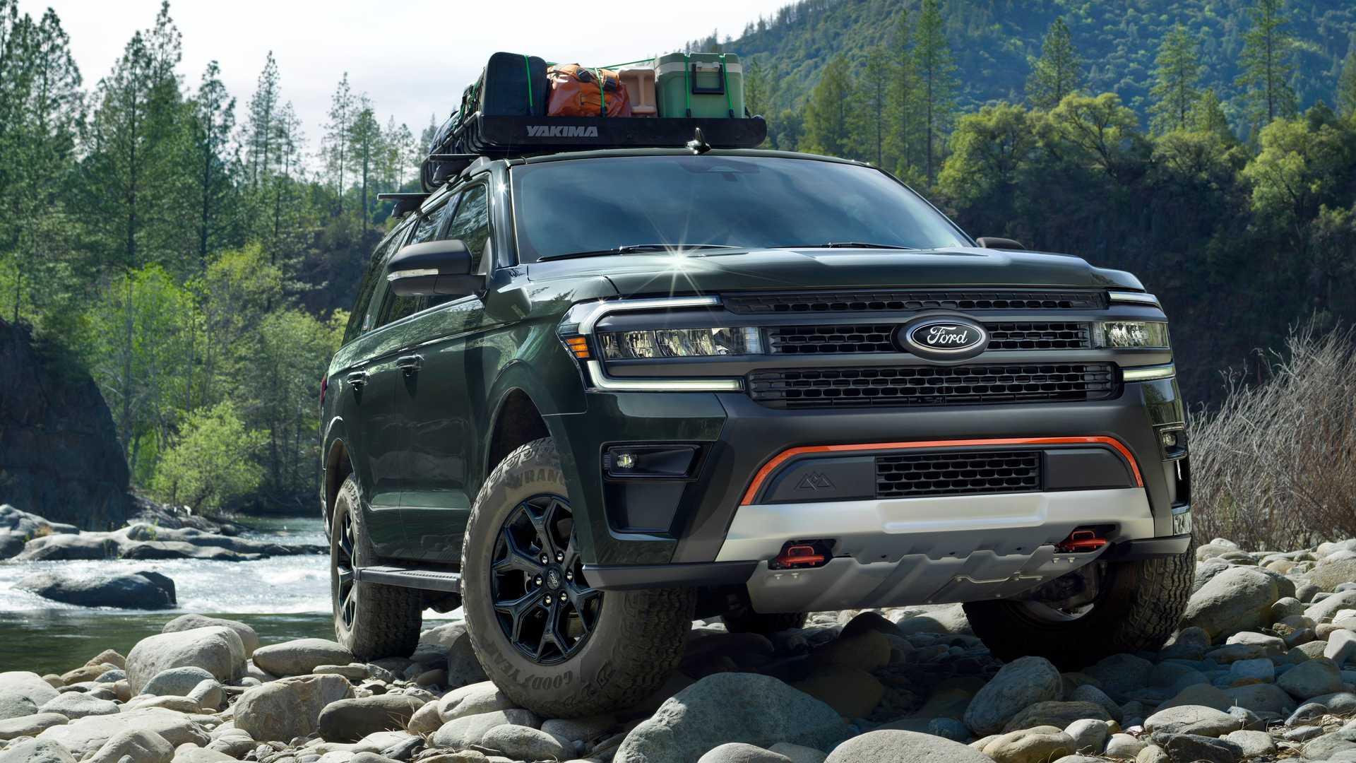 Представлен Ford Expedition 2022 с отделкой Timberline и пакетом производительности Stealth Edition