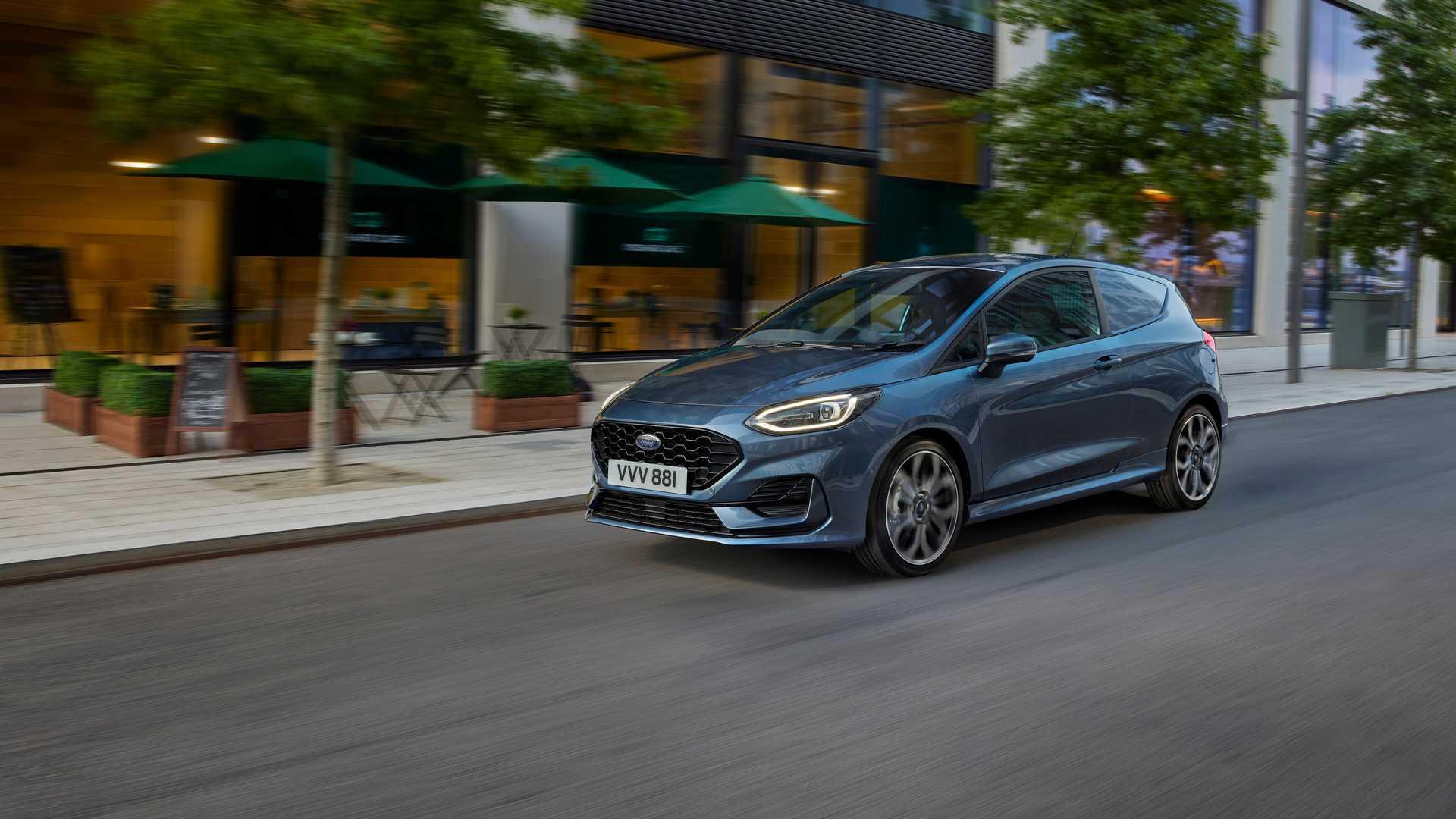 2022 Ford Fiesta Van получит подтяжку лица и сможет работать на топливе E85