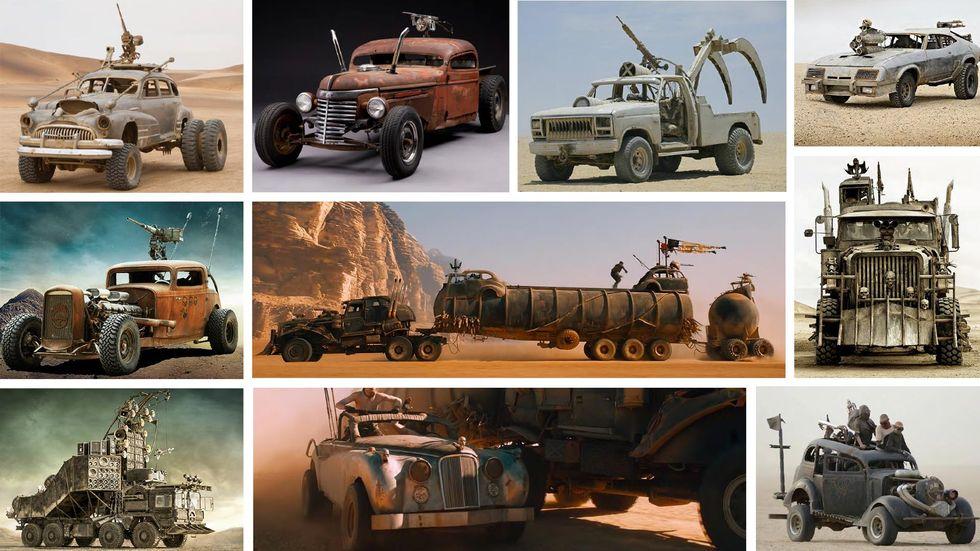 """Автомобили из фильма """"Безумный Макс: Дорога ярости"""" продаются на аукционе"""