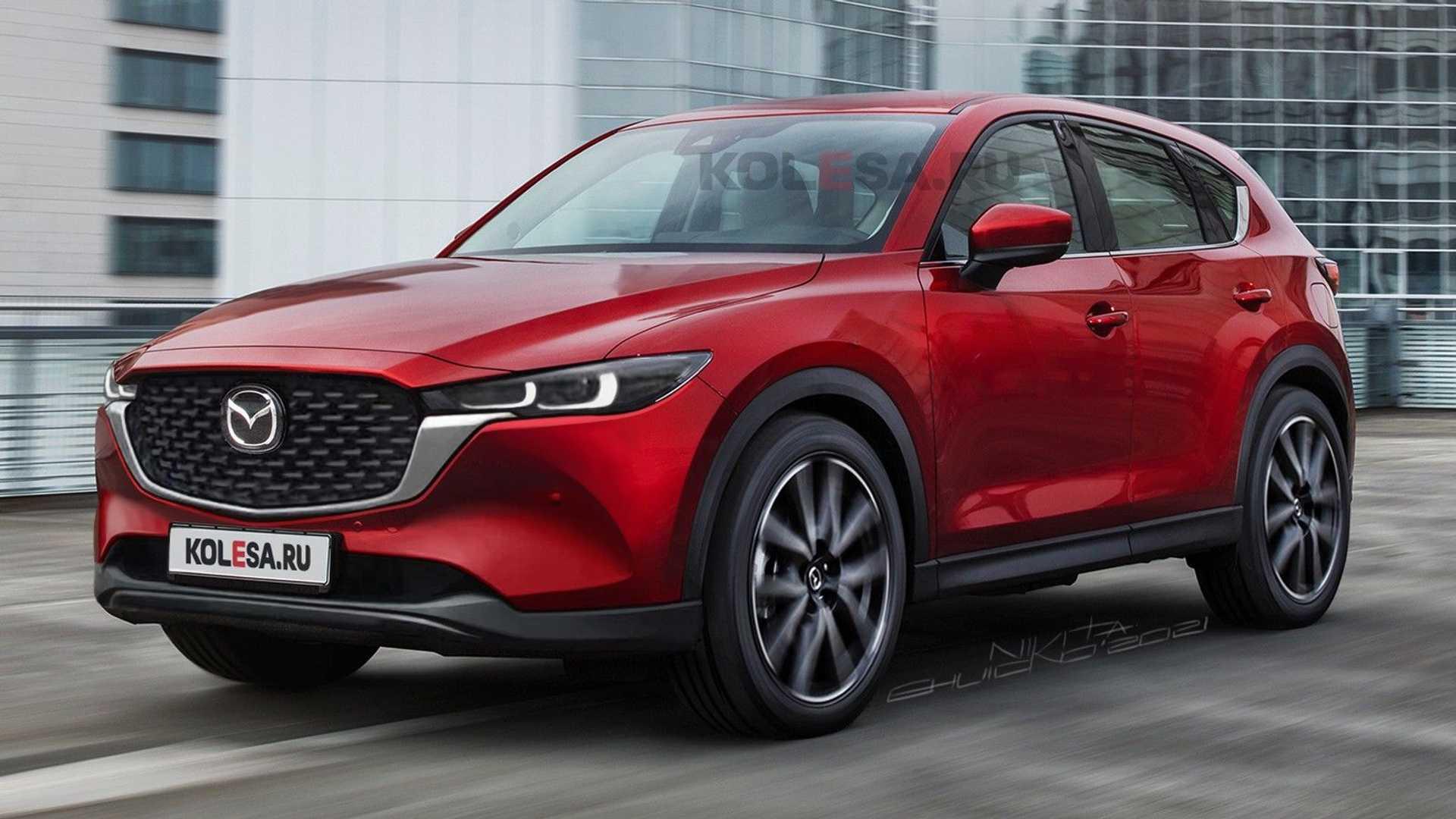 Mazda CX-5 2022 года хорошие фото