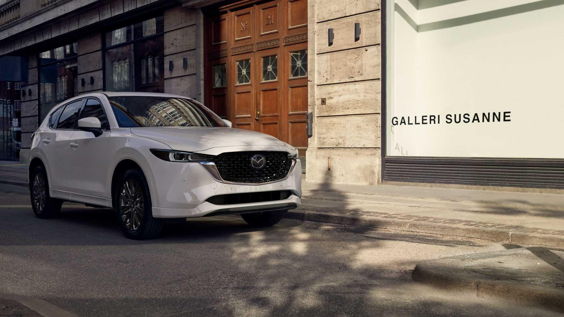 Заднеприводный шестицилиндровый внедорожник Mazda выйдет на рынок в 2022 году
