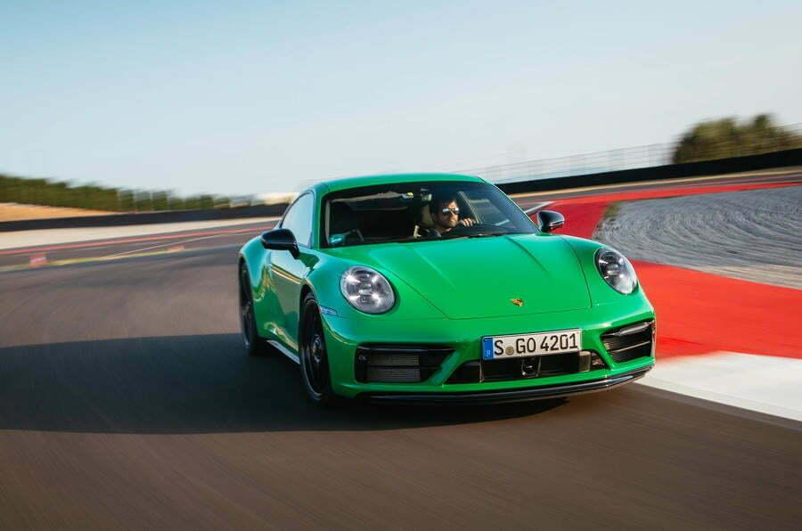 Porsche 911 GTS 2021 обзор