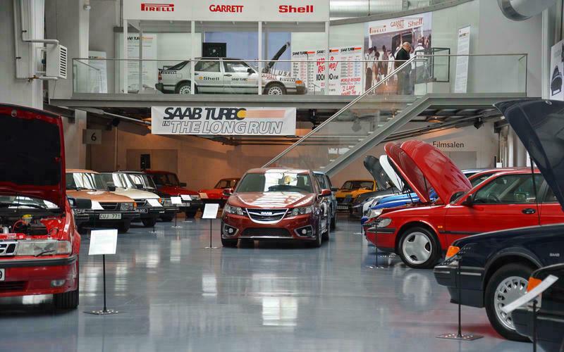 Монстры, одноразовые модели и внедорожники V8, спрятанные в музее Saab