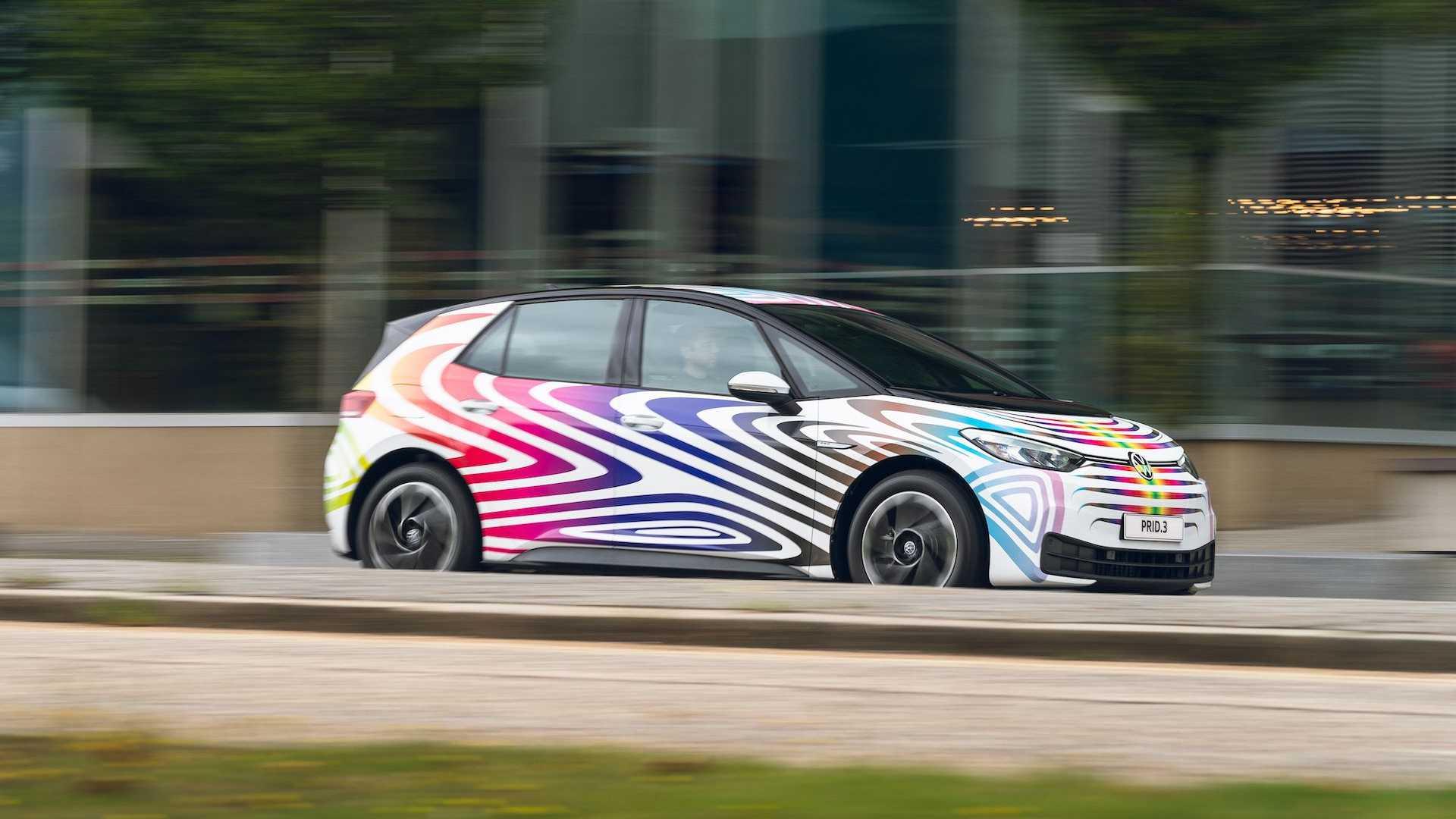 Volkswagen PRID.3 дебютирует в честь многообразия и инклюзивности