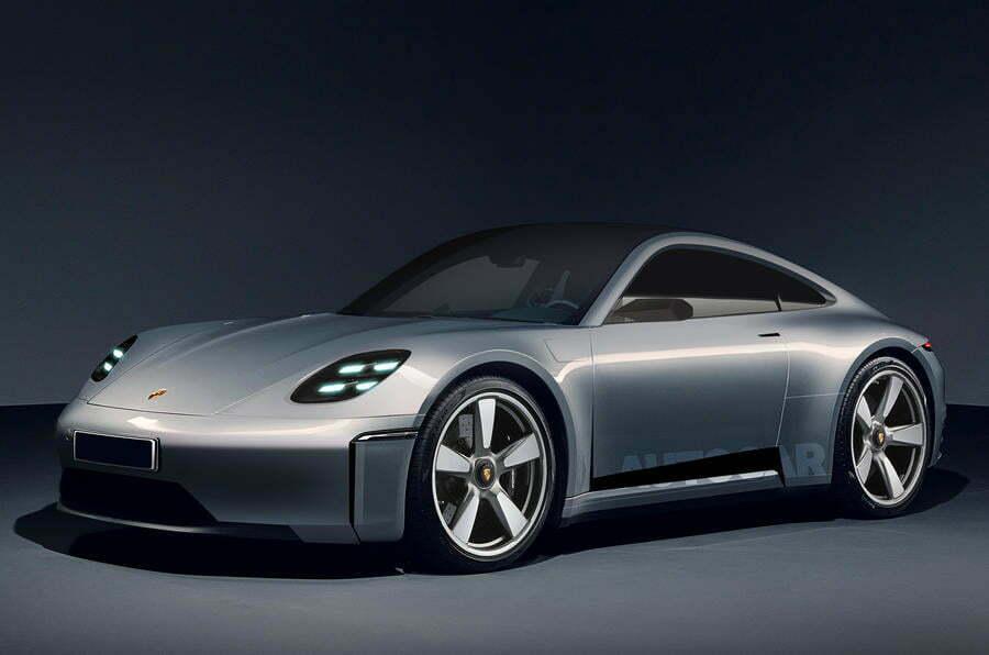 """Новые технологии дают """"больше свободы"""" для разработки электрического Porsche 911-го"""